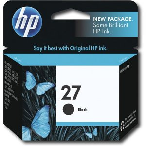 HP cart. 27 crni